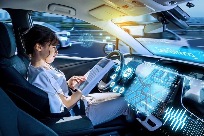 Avec la navette, </br>en route vers le véhicule autonome !