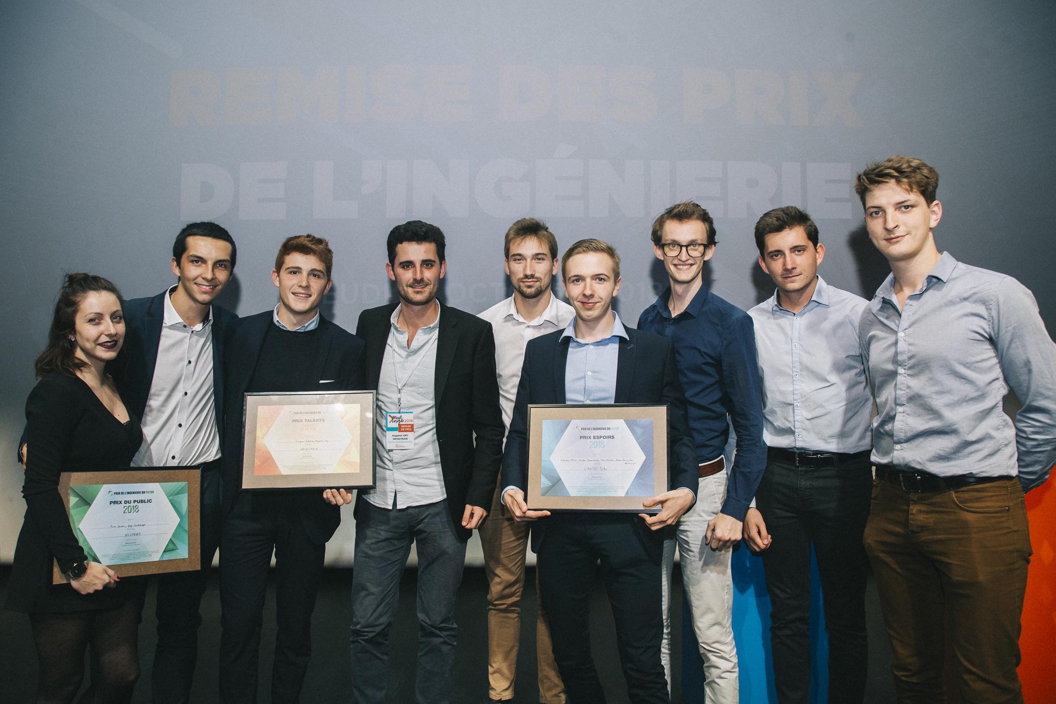 lauréats pif mobilités prix de l'ingénierie du futur