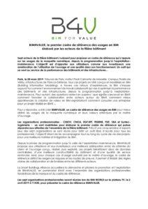BIM4VALUE, le premier cadre de référence des usages en BIM élaboré par les acteurs de la filière bâtiment