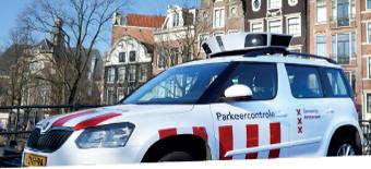 Stationnement sous contrôle numérique à Amsterdam