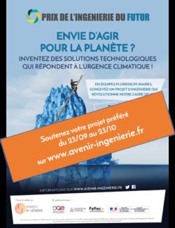 Prix de l'Ingénierie du Futur : soutenez le projet étudiant le plus ambitieux !