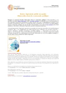 Syntec-Ingénierie publie son guide L'innovation dans la commande publique