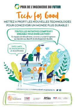 Tech for good : le thème 2020 du Prix de l'Ingénierie du Futur