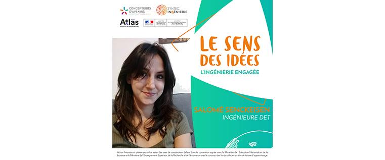 PODCAST – Salomé Senckeisen partage son parcours et ses idées pour parvenir à l'égalité femmes-hommes dans les métiers de l'ingénierie