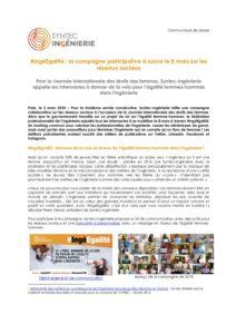 #IngéEgalité : la campagne participative à suivre le 8 mars sur les réseaux sociaux