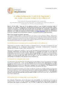 2e édition du Baromètre Covid-19 de l'ingénierie* : une reprise à la peine malgré le déconfinement