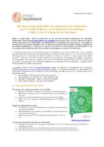 Élections municipales 2020 : les propositions de l'ingénierie pour concilier résilience, développement économique et lutte contre le changement climatique