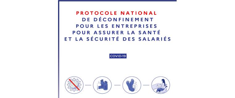 Le ministère du Travail publie le nouveau protocole national de déconfinement (phase 3)