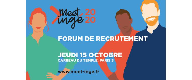 Coup d'envoi de Meet'ingé 2020 !
