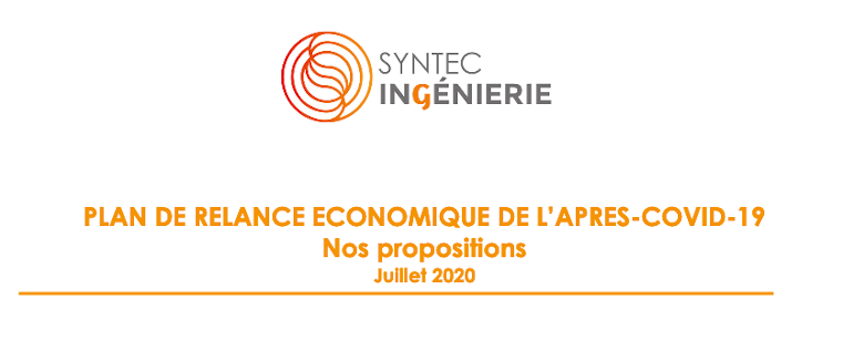 Syntec-Ingénierie publie ses propositions pour le plan de relance