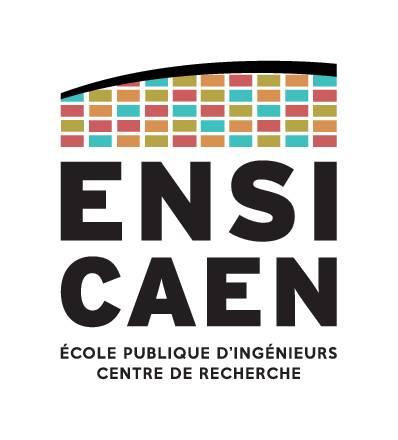 École nationale supérieure d'ingénieurs de Caen - ENSICAEN