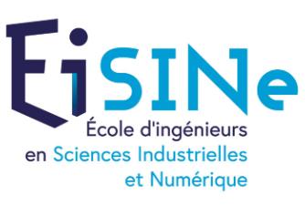 École d'ingénieurs en sciences industrielles et numérique - EiSINe