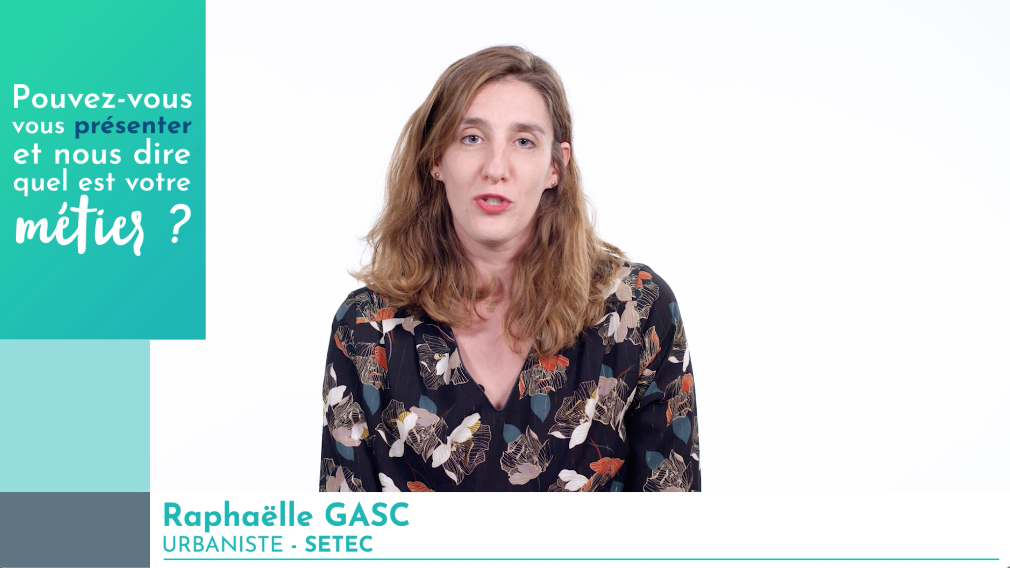 [VIDÉO] Série Femmes de l'ingénierie : Raphaëlle Gasc, urbaniste au service du développement des territoires