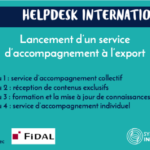 Lancement du Helpdesk International, service d'accompagnement à l'export
