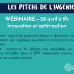 """28 avril : participez à la 3e édition des """"Pitchs de l'ingénierie"""" !"""