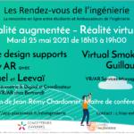 25 mai : échangez avec les étudiants sur la réalité virtuelle et la réalité augmentée