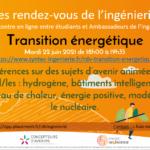 22 juin : échangez avec les étudiants sur la transition énergétique lors d'un Rendez-vous de l'ingénierie