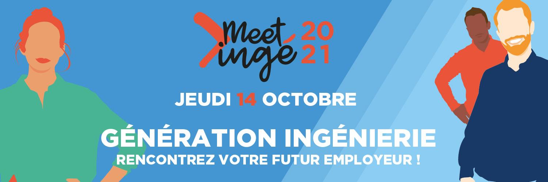 J-3 semaines avant Meet'ingé, le forum de recrutement des métiers de l'ingénierie industrielle et de la construction !