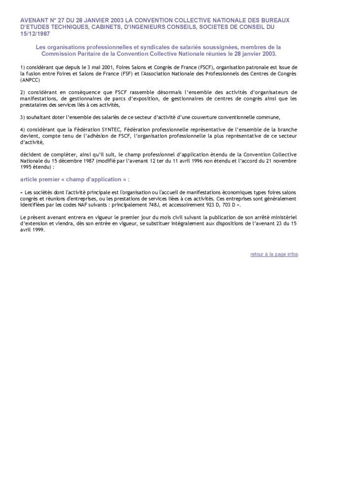 20030128Accordconventioncollective SyntecIngnierie
