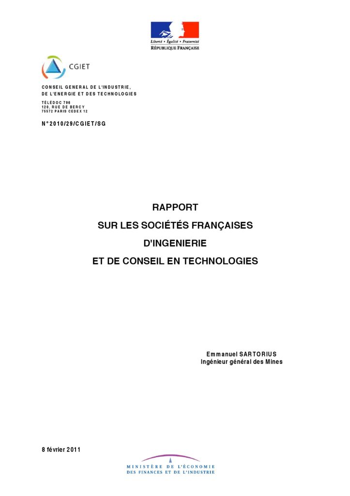 thumbnail of 2011-02-01</br>Rapport-sur-les-sociétés-d'Ingénierie-et-de-conseil-en-technologies-Emmanuel-SARTORIUS