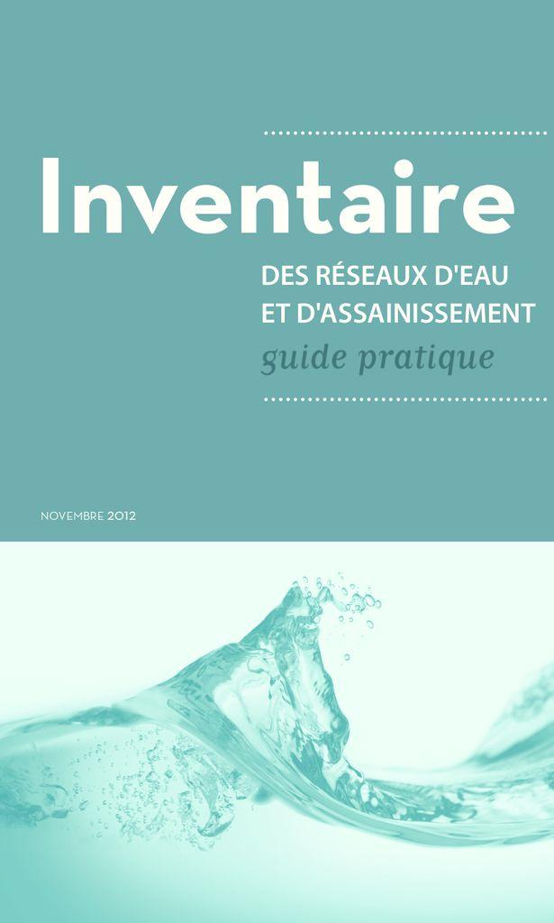 thumbnail of 2012-11-01</br>Inventaire-des-réseaux-d'eau-et-d'assainissement