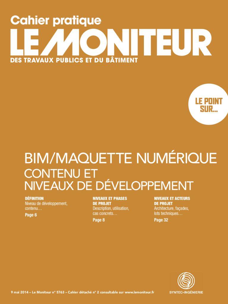 thumbnail of 2014-05-09<br/>BIM/Maquette-Contenu-et-niveaux-de-développement